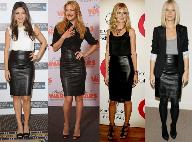 Tops To Go With Leather Skirts - Dress Ala